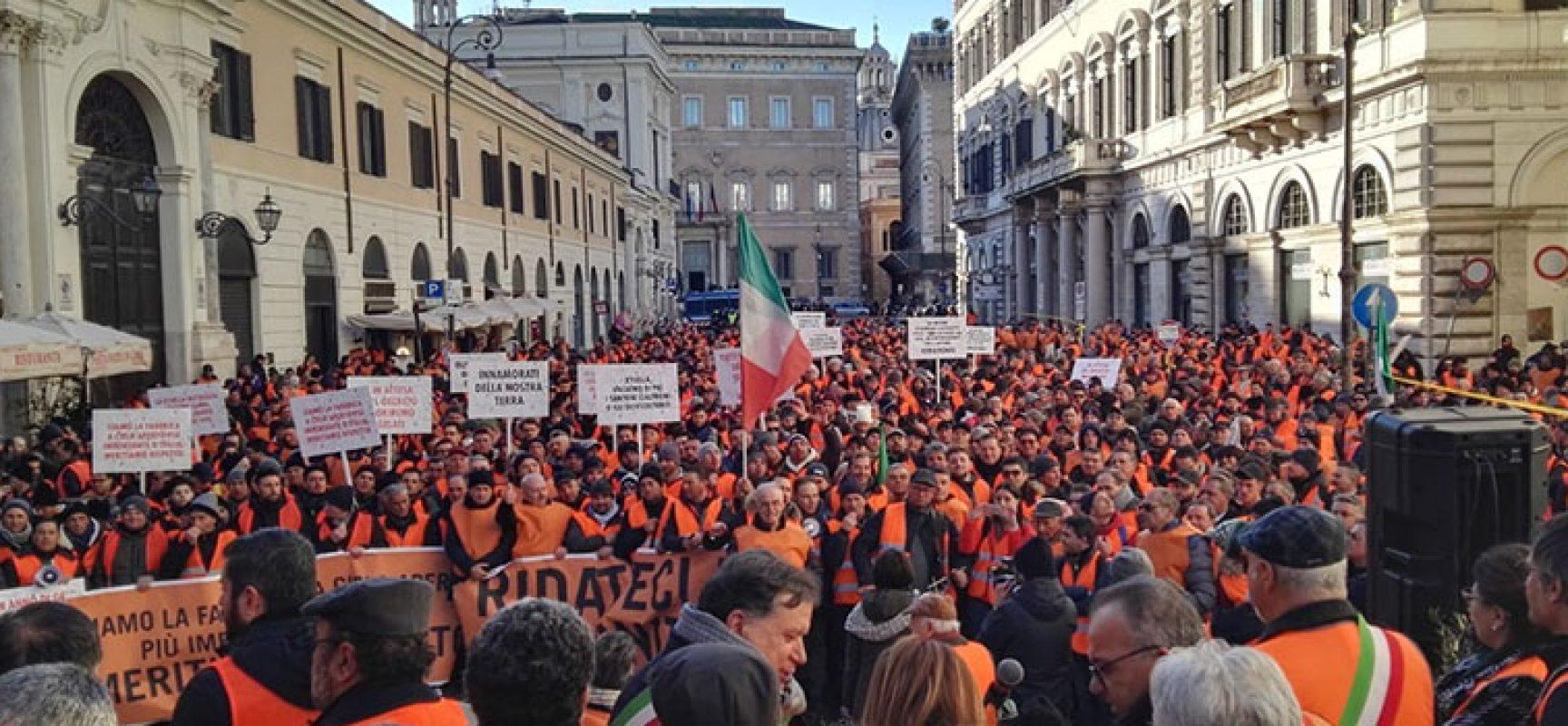 Gilet arancioni a Roma, soddisfatta la delegazione biscegliese di Confagricolutra Bari-Bat