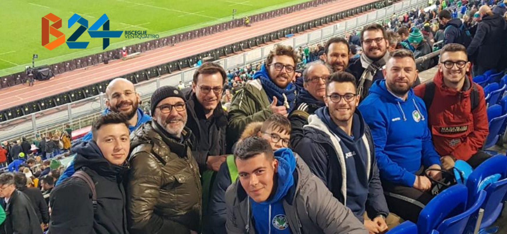 """Metti una giornata a Roma, Bisceglie24 al """"Sei Nazioni"""" con Bees Rugby e Draghi Bat"""