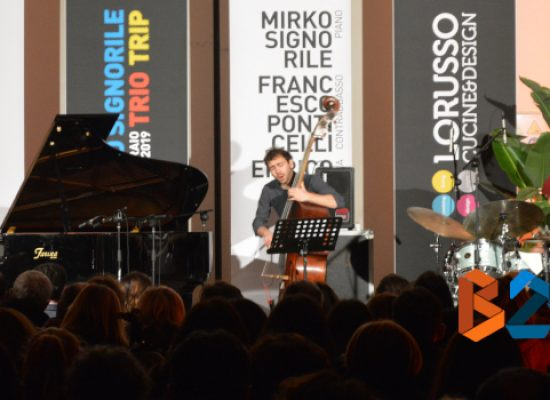Musica e design, Mirko Signorile Trio Trip e ML22 per una serata da ricordare / FOTO