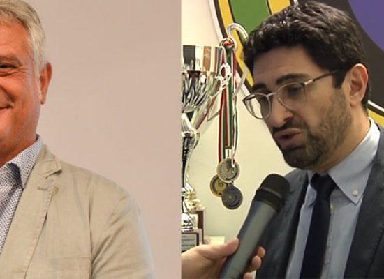 Assessore Naglieri commenta andamento Futsal Bisceglie, il presidente Simone replica / VIDEO
