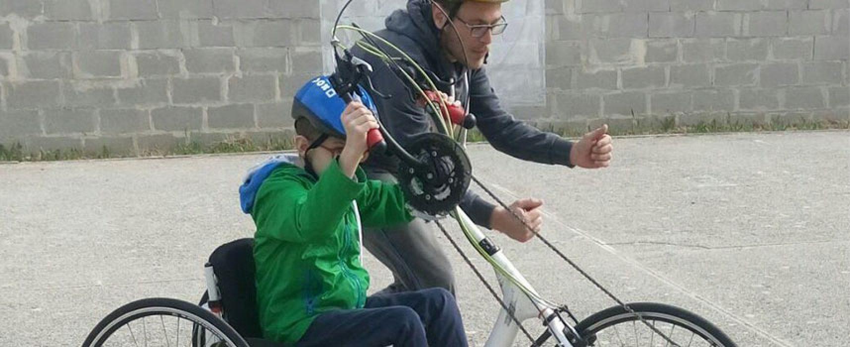 """Partito """"Oltre le due ruote"""" progetto per favorire uso della bici a ragazzi con disabilità"""
