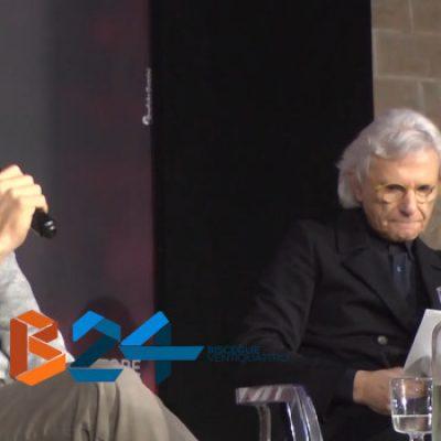 """Enrico Letta alle Vecchie Segherie per la presentazione del libro """"Ho imparato"""" / VIDEO"""