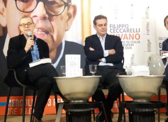 """Da De Gasperi ai Cinquestelle, Ceccarelli alle Vecchie Segherie Mastrototaro con """"Invano"""" /VIDEO"""