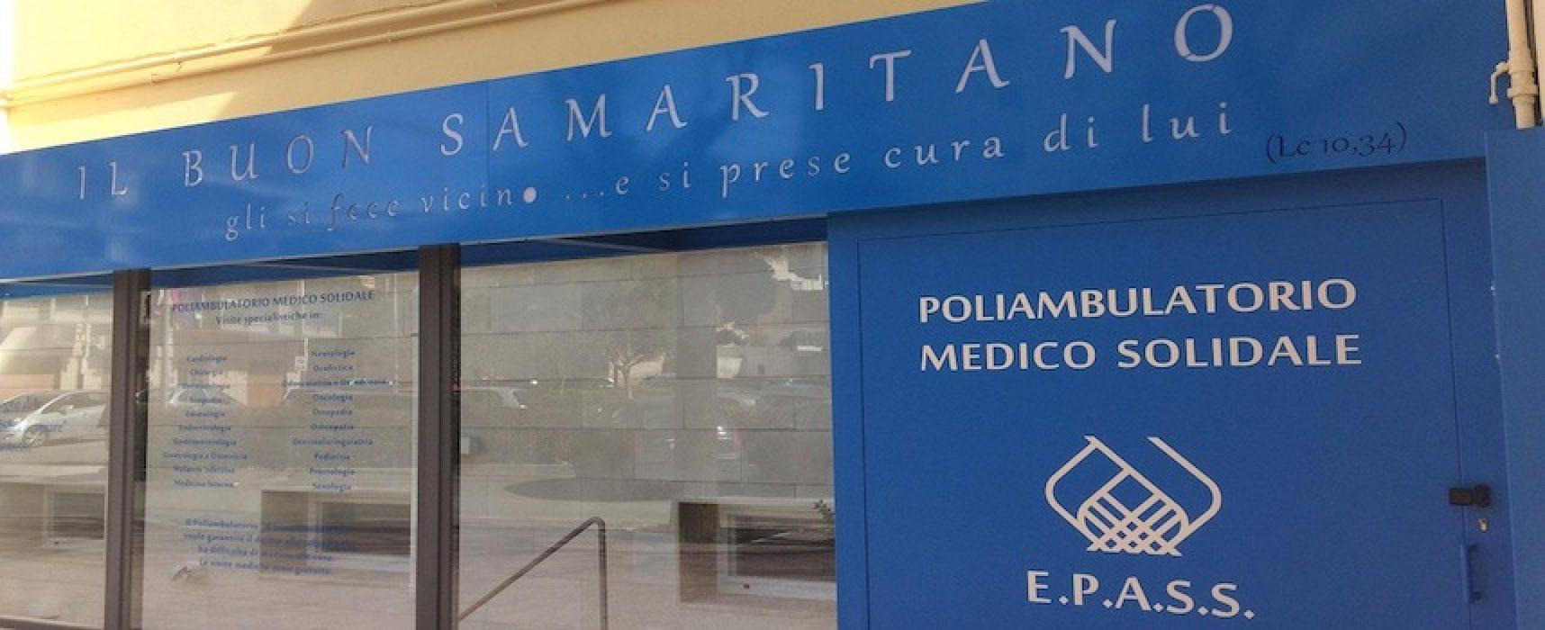 Poliambulatorio il buon Samaritano, effettuate ottocento visite specialistiche gratuite