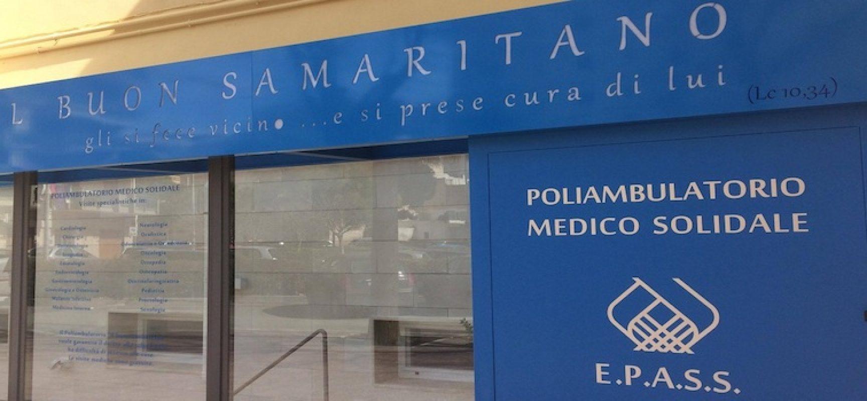 """Aperitivo di solidarietà per raccogliere fondi per il Poliambulatorio """"Il buon Samaritano"""""""
