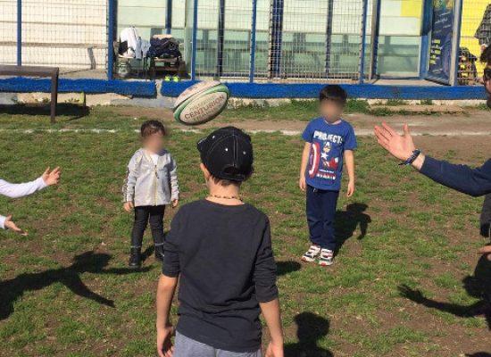 """""""Prendiamoci per mano"""", festa del papà in campo con il Bisceglie Rugby"""