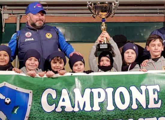 Il Real Bisceglie vince a Bari la Coppa Carnevale con la compagine Primi Calci