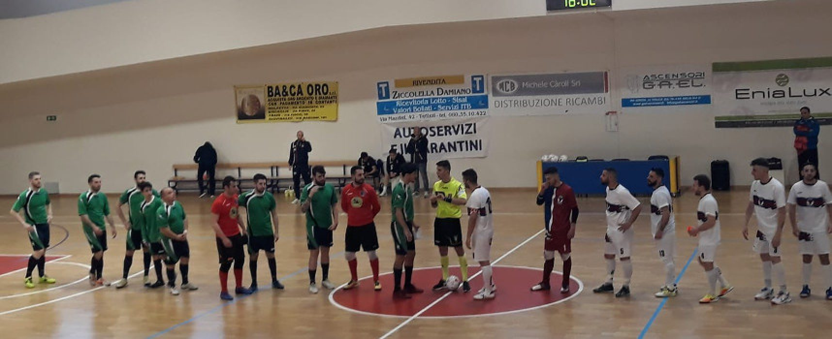 Futsal C2: Futbol Cinco vince il big match a Terlizzi, pari per il Nettuno