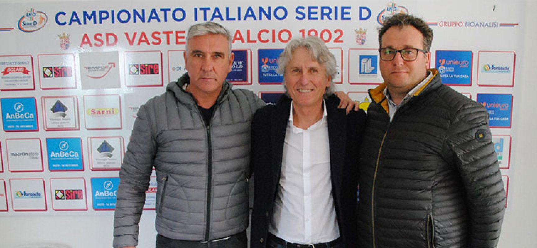 Aldo Papagni torna in pista, è il nuovo tecnico della Vastese