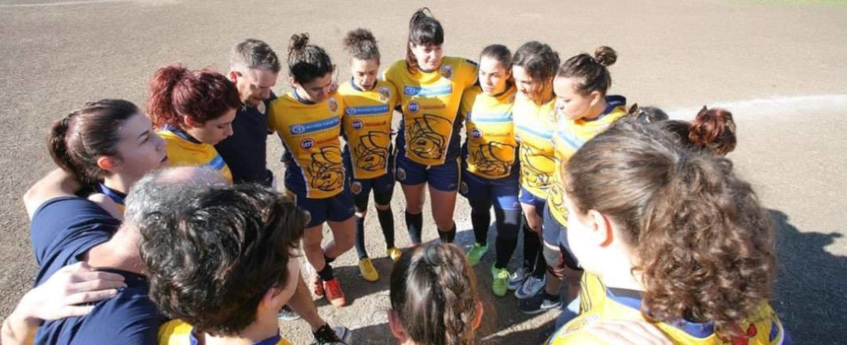 Oggi a Bisceglie rugby femminile con la decima tappa della Coppa Italia
