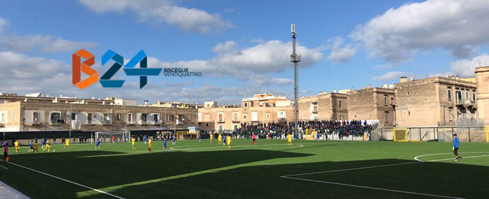 Unione Calcio-Molfetta, vendita tagliandi ai soli residenti a Bisceglie