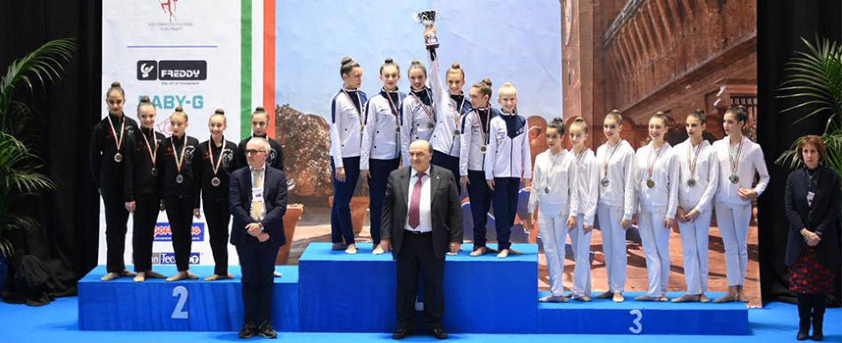 Ginnastica Ritmica Iris Bisceglie in gara a Bari per il Campionato Individuale Silver