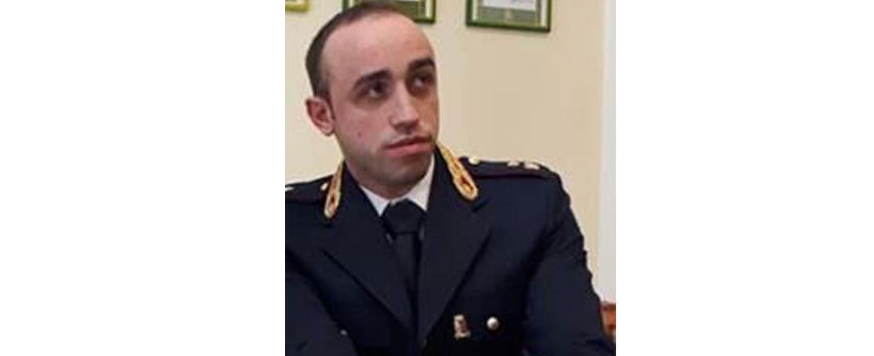 Il biscegliese Davide Lamanuzzi nominato vice della Squadra Mobile di Vibo Valentia