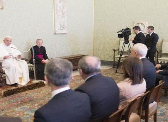 Federazione Italiana Medici Pediatri, biscegliese tra i ricevuti da Papa Francesco