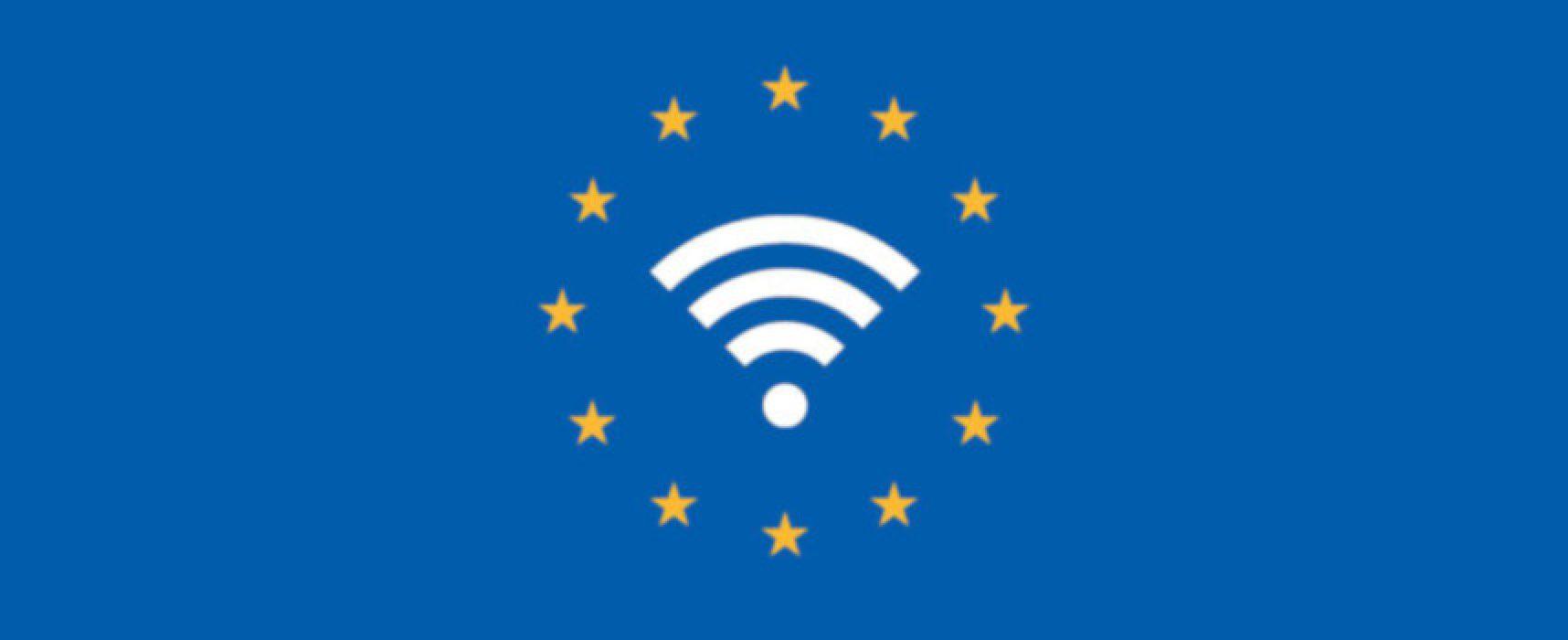 Bisceglie ottiene il finanziamento Wifi4Eu per reti Wifi gratuite in luoghi pubblici