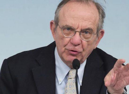 L'ex ministro dell'economia Padoan alle Vecchie Segherie Mastrototaro