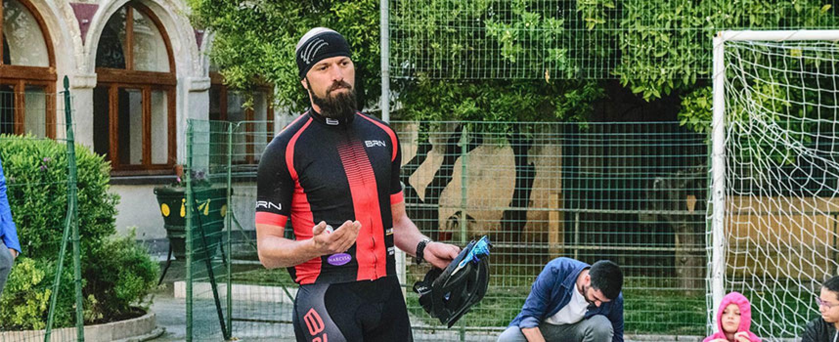 Il triatleta biscegliese Cangellario pronto per San Benedetto del Tronto  / VIDEO