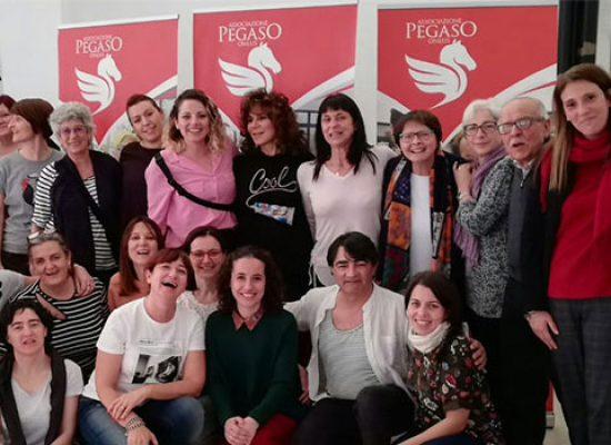A Casa Pegaso progetto Erasmus con operatori di Spagna e Italia
