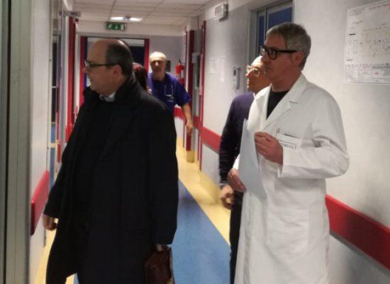 """Direttore Asl Bat visita ospedale di Bisceglie: """"Presto lavori al Pronto Soccorso"""""""