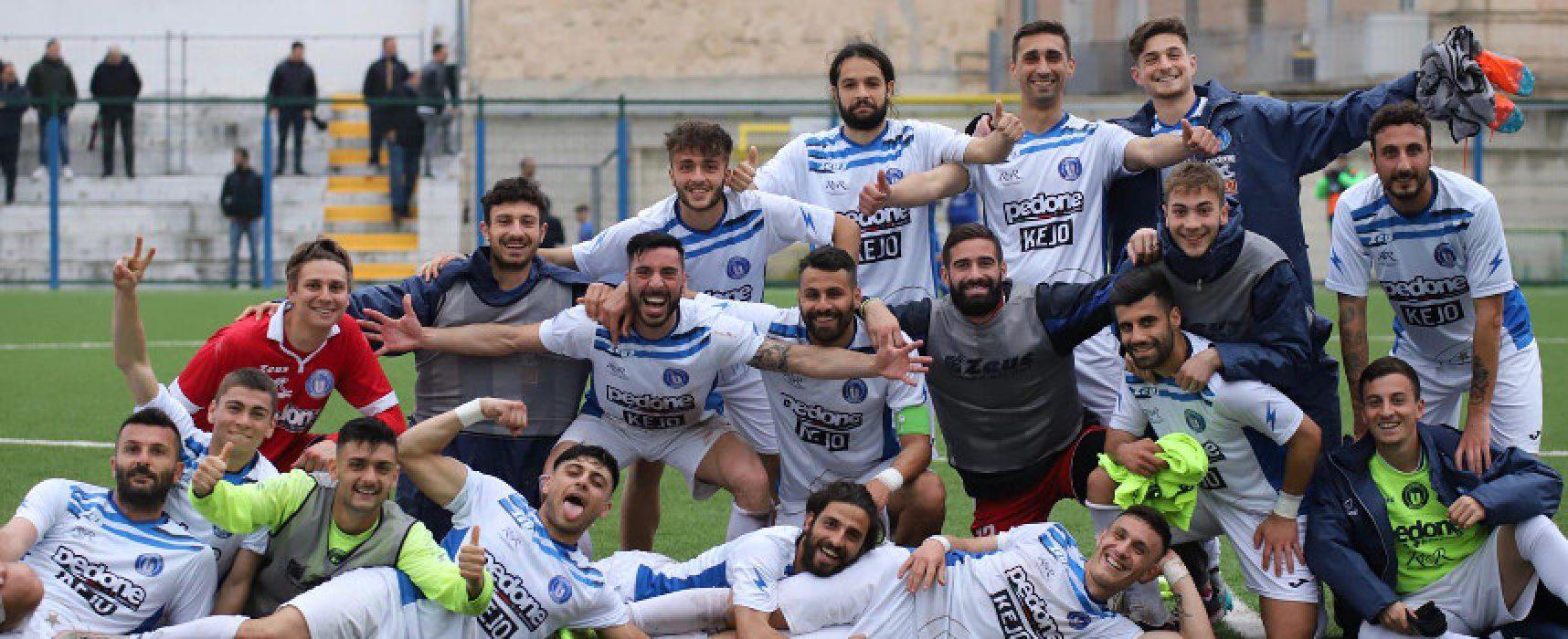 Unione Calcio, tre gol al Brindisi e salvezza raggiunta