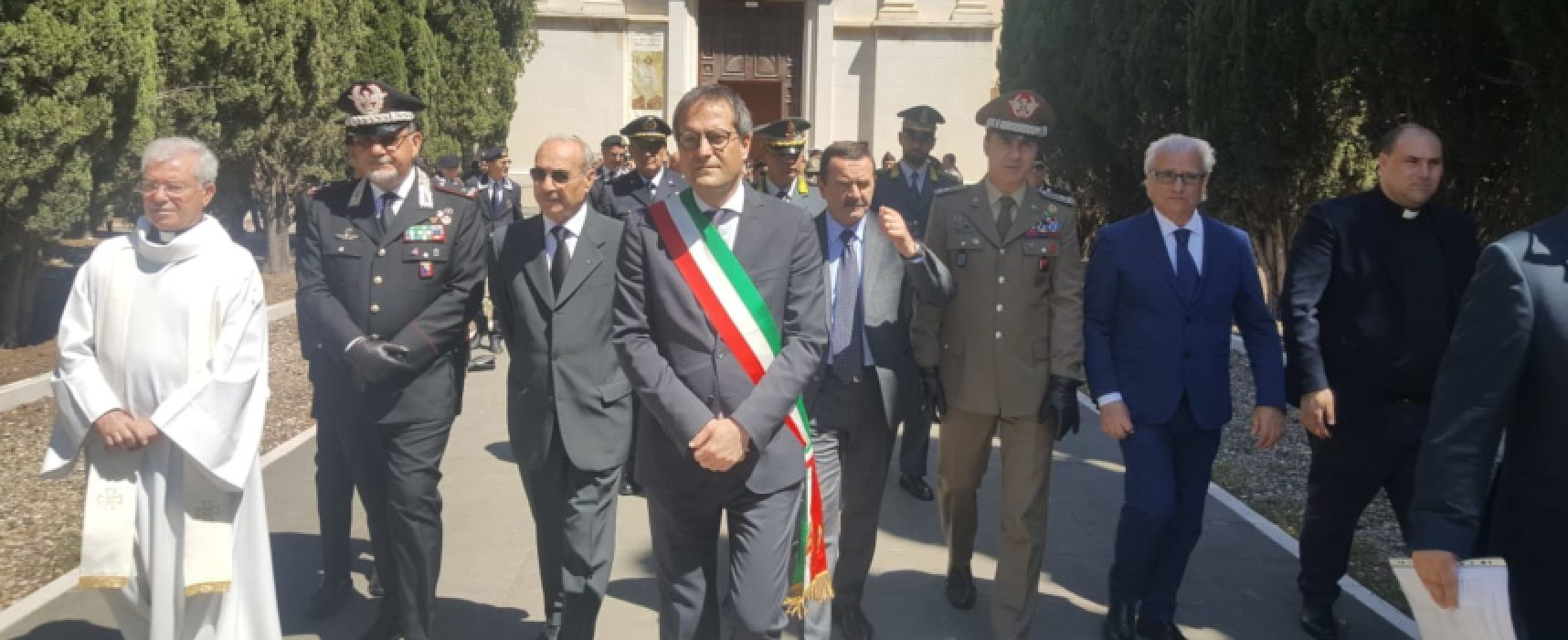 Tredicesimo anniversario della scomparsa di Carlo De Trizio, ieri la cerimonia commemorativa
