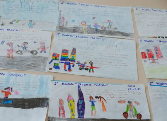 """""""Un mare da salvare"""", partito progetto teatrale di CompagniAurea e scuola """"San Giovanni Bosco"""""""