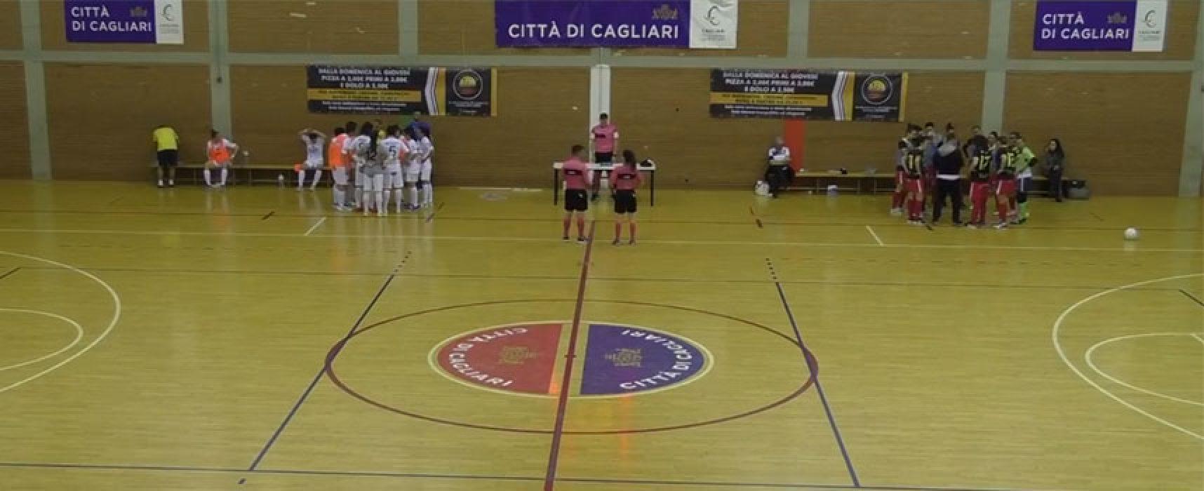 Pirotecnico pari del Bisceglie Femminile a Cagliari