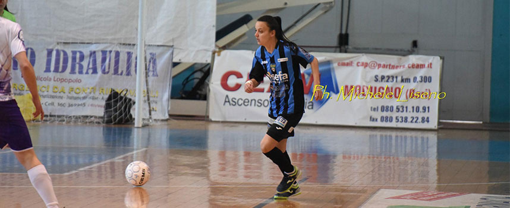 Bisceglie Femminile attende nella propria tana la Lazio