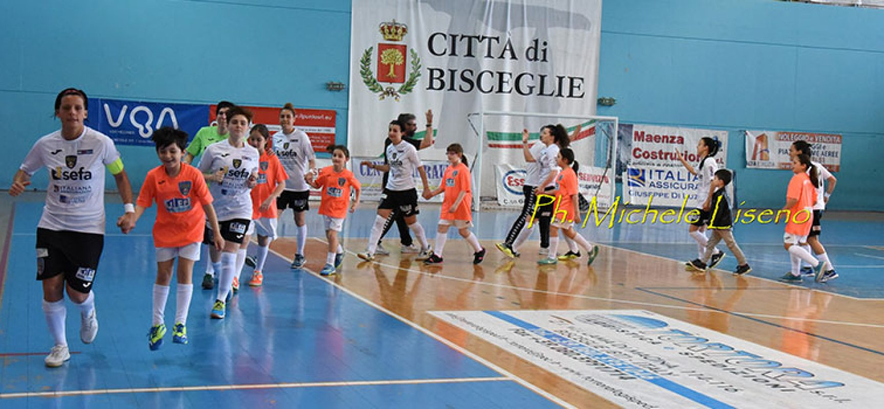 Bisceglie Femminile a caccia dell'impresa nel derby con il Futsal Salinis