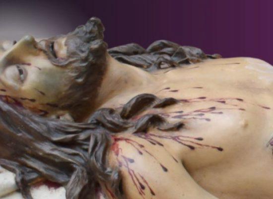"""Settimana Santa, diretta Tv del rientro della statua del """"Cristo deposto"""""""