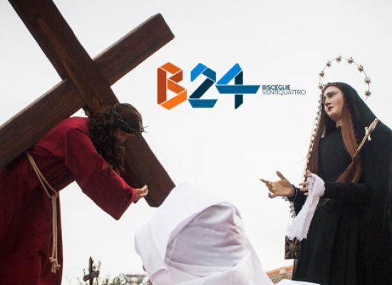 Incontro del Venerdì Santo tra Maria Addolorata e Gesù / Diretta su Bisceglie24