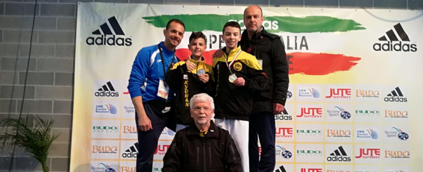 Federico Papagni conquista l'oro nell'Open d'Italia di karate