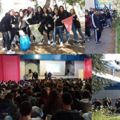 """Legambiente e Istituto """"Dell'Olio"""", curare i propri spazi per rispettare l'ambiente / FOTO"""