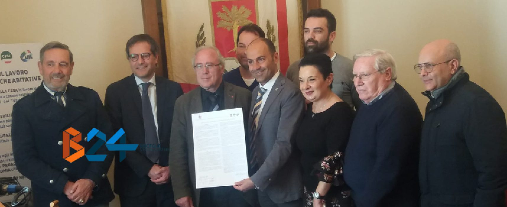Firmato oggi in Comune Patto per il lavoro e politiche abitative / VIDEO