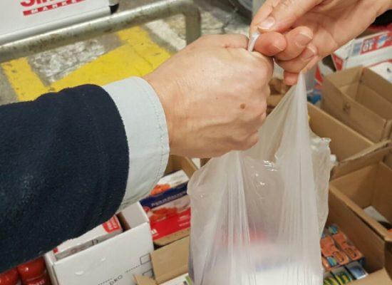 """Caritas e """"Bisceglie Illuminata"""" insieme per la raccolta alimentare"""