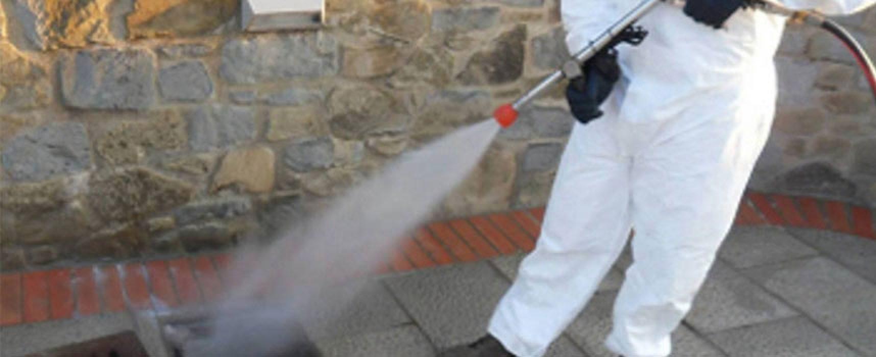 Eseguiti servizi di sanificazione in tutti i plessi scolastici di competenza comunale