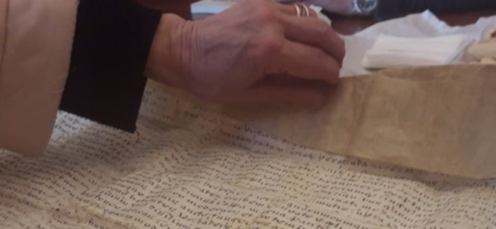 Ritrovata a Parigi pergamena del 1741 trafugata da Bisceglie