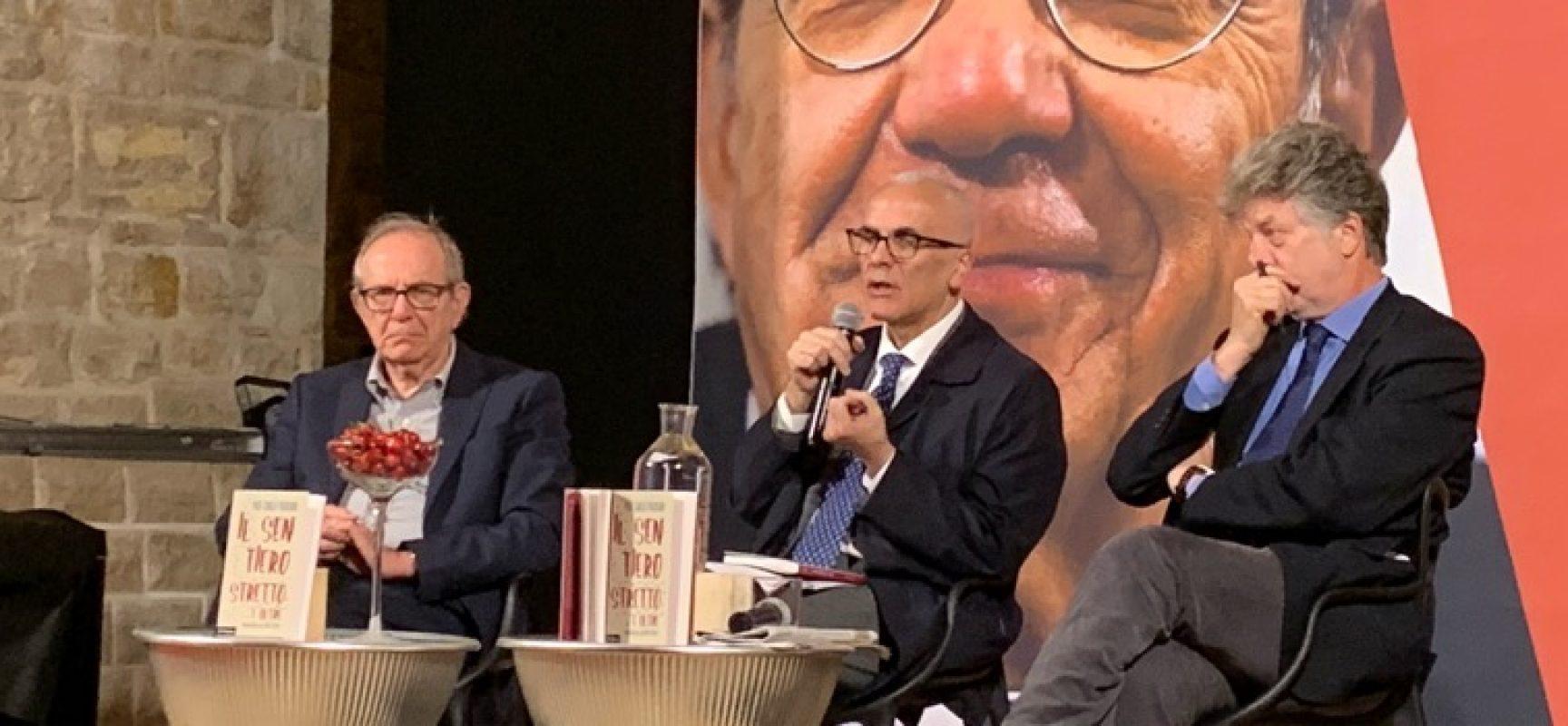 """L'ex ministro Padoan alle Vecchie Segherie Mastrototaro: """"Più Europa, ma servono riforme"""""""
