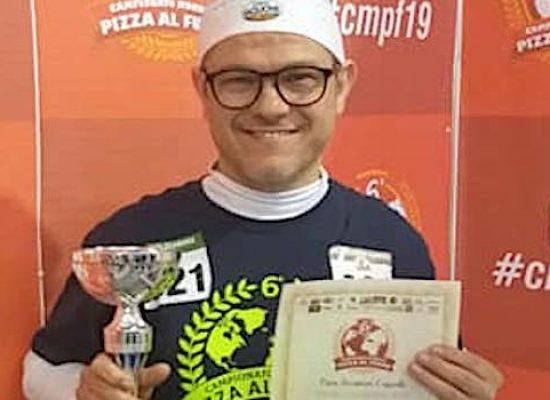 Riconoscimento per il pizzaiolo biscegliese Angelo Di Molfetta a Gravina di Puglia