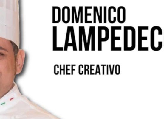 """Lo chef biscegliese Domenico Lampedecchia entra a far parte del team di """"Chef Awards"""""""