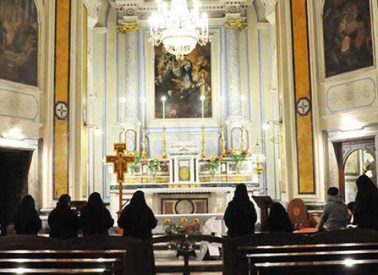 Celebrazione 500 anni Monastero san Luigi accoglie reliquia sant'Antonio da Padova