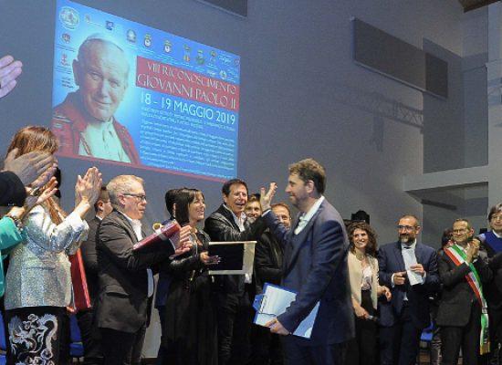 Riconoscimento Giovanni Paolo II, grande successo per l'ottava edizione