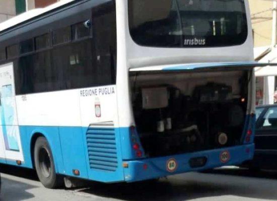 Via Imbriani, guasto provoca una sosta non prevista ad autobus Stp