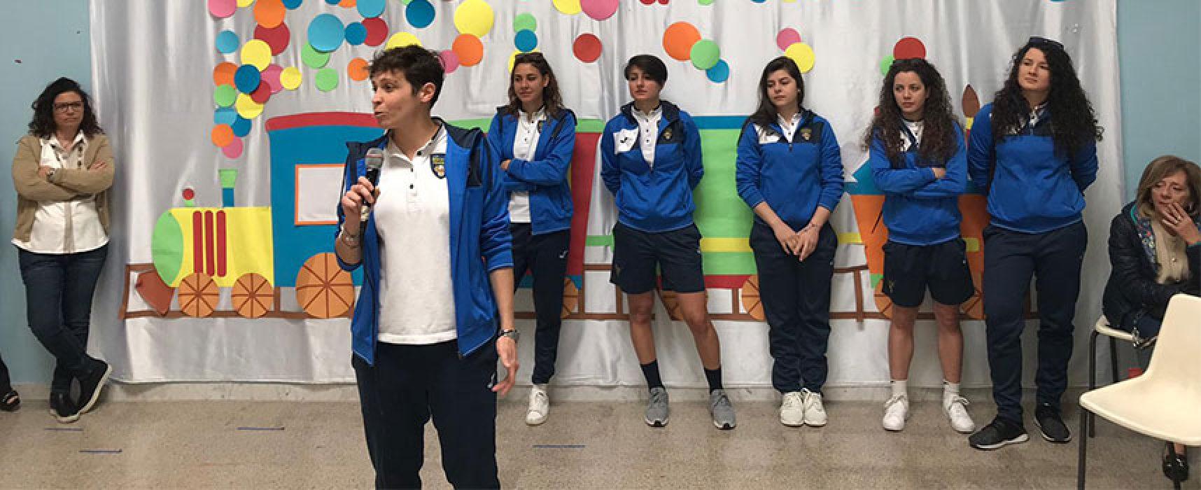 """Bisceglie Femminile protagonista dell'incontro, """"Lo sport oltre il pregiudizio"""" / FOTO"""