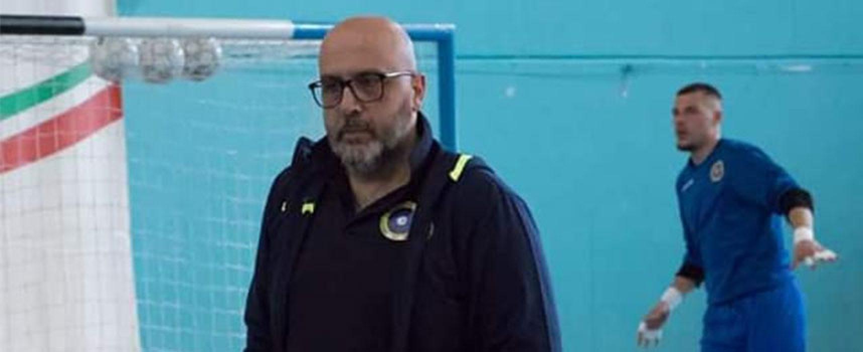 Il Futsal Bisceglie conferma Capursi in panchina e ufficializza domanda ripescaggio in A2