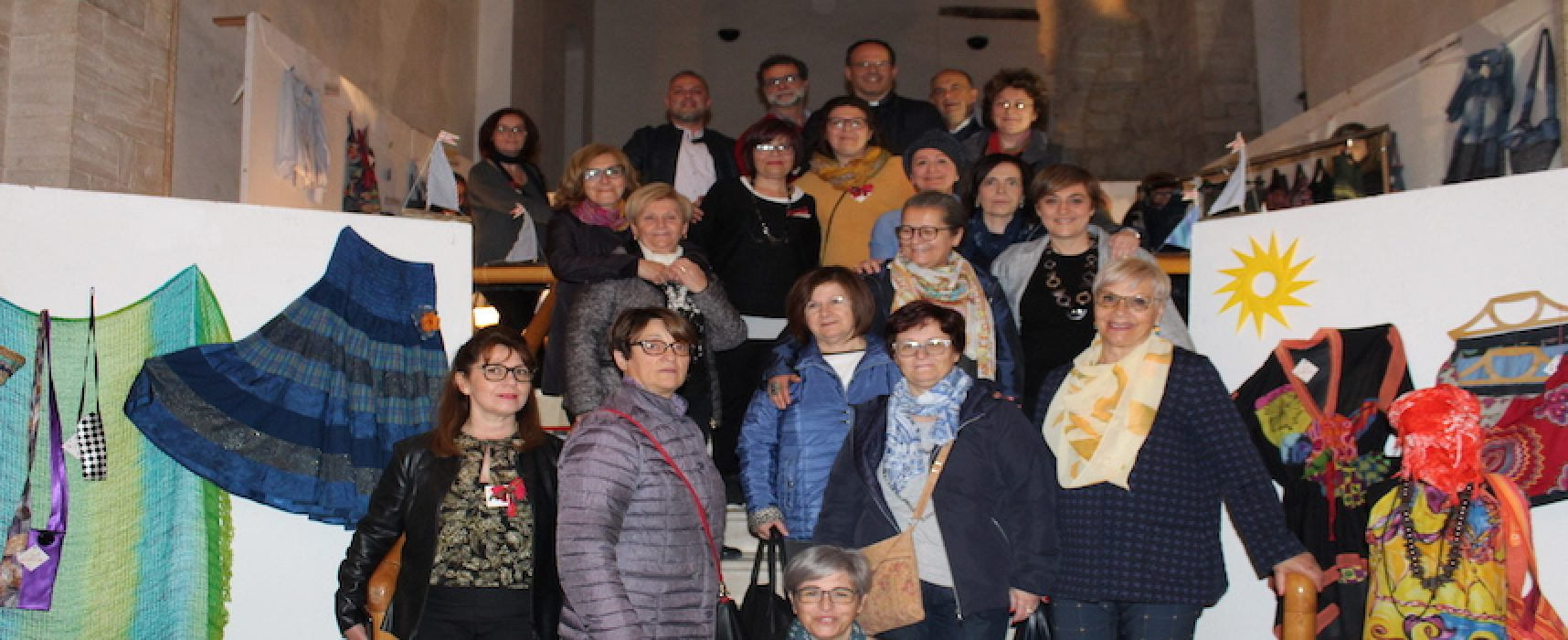 """Ottimi risultati per """"Storie e stoffe"""", mostra organizzata dalla Caritas Bisceglie"""
