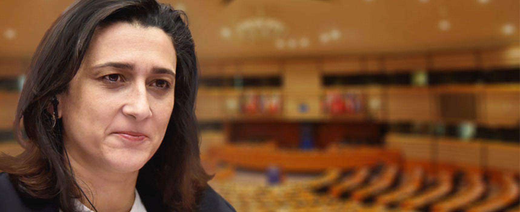 Elezioni europee, la candidata Rosa D'Amato (M5S) oggi a Bisceglie