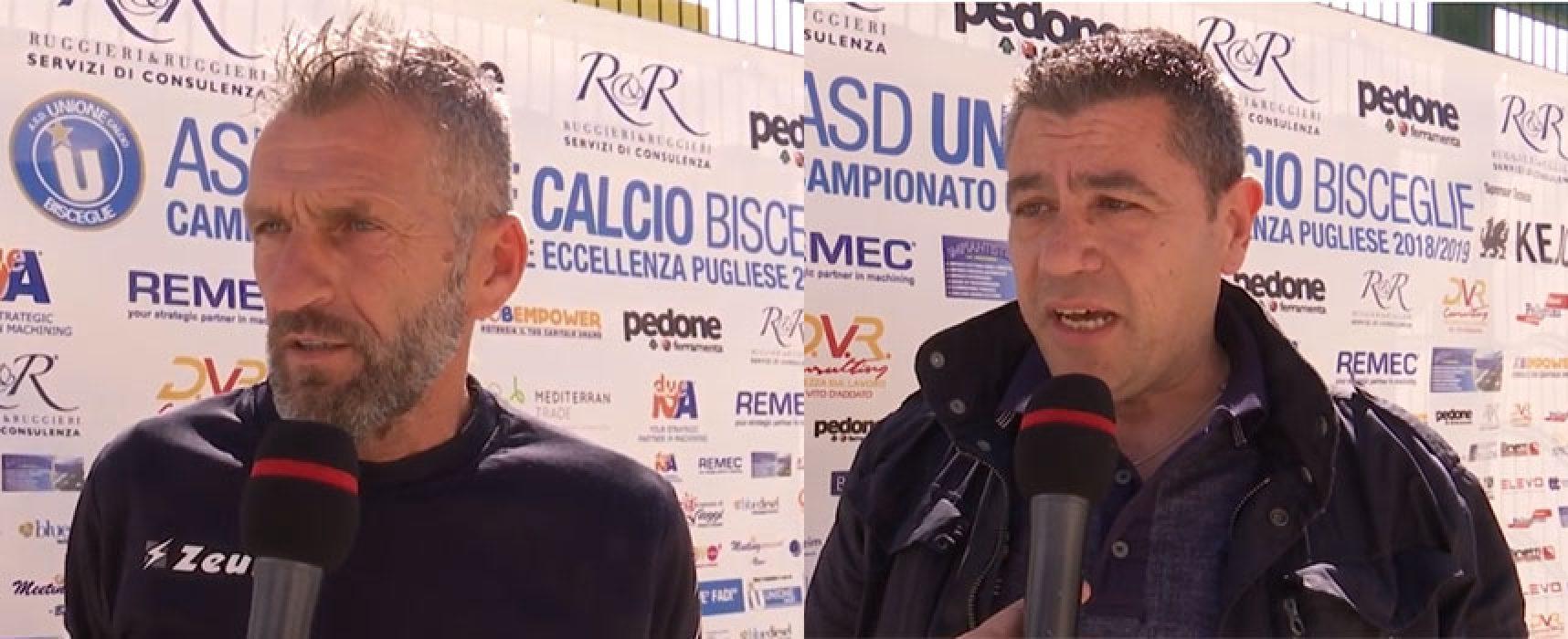Unione Calcio, il bilancio di Under 19 e 17 con i tecnici Fanelli e Albanese / VIDEO