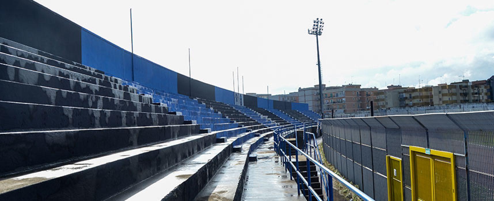 """Giunta comunale favorevole al project financing per lavori a stadio """"Ventura"""" e campo """"Di Liddo"""""""
