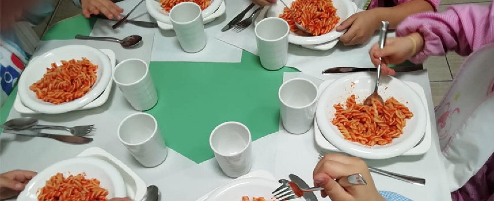 Abbattere l'uso di plastica nelle mense scolastiche, parte la sperimentazione a Bisceglie